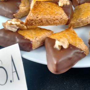 Losanges noix et chocolat