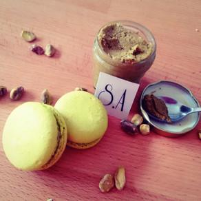 Macarons  pistache