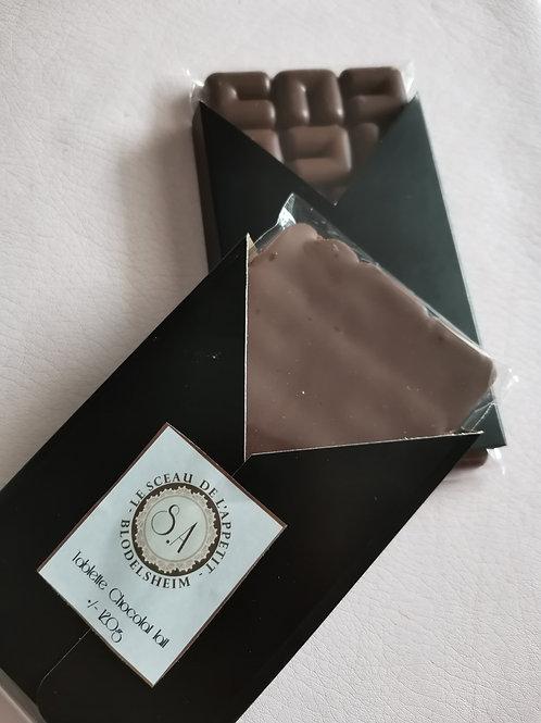 Tablettes de chocolat au lait