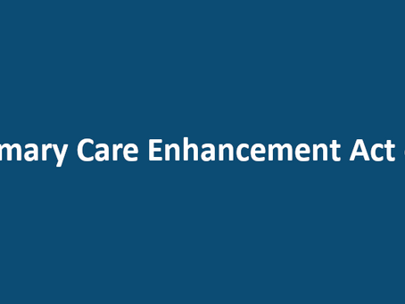The Primary Care Enhancement Act of 2019