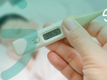 Como o nosso corpo se comporta quando estamos com febre?