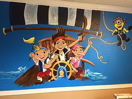 Mural, Jake n Pirates, peter, pan, minion, custom, personalized, fort, worth, texas, cassie, wright, artistexas, local, wall, paint, lowes, home, depot, cassie, wright, irving, arlington, plano, dallas, fort, worth, saginaw, keller, southlake, trophy, club, little, elm, flowermound, grapevine, colleyville, euless,