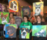 Paint, Party, girls nite, pet, mobile, painting, with, a, twist, better, local, texas, dallas, fort, worth, north, richland, arlington, irving, plano, saginaw, keller, southlake, artistexas, studio, cassie, wright, pet, portrait, fun,