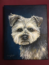 Pet portrait, painting, acrylic, Cassie, Wright, portrait, custom, personalized, hired, dallas, fort, worth, texas, houston,
