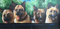 German, Shephard, painting, acrylic, oil,  custom, cassie, wright, Artistexas, Texas, pet, portrait, painting, paint, artwork, texas, dallas, fort, worth,