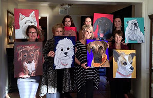 Mobile Paint Party, Paint your Pet, Paint, parties, Custom, Fun, Party, Laugh, Birthday, Bachlorette, graduation, church, team, building, Cassie, Wright, Girls, Night, painting, with, a, twist, better, love, artwork, artistexas, texas, local,