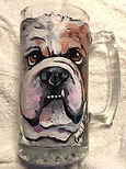 Portrait on mug