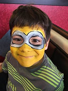 face paint, kids, parties, party, minion, boys, artistexas, cassie, wright, keller, saginaw, fort, worth, dallas, plano, irving, arlington, watauga, cassie, wright, studio, painting, fun, local, awesome, face, paint,
