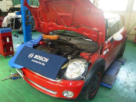 BMWミニ MINI エンジンチェックランプ点灯 故障診断 修理 群馬 館林
