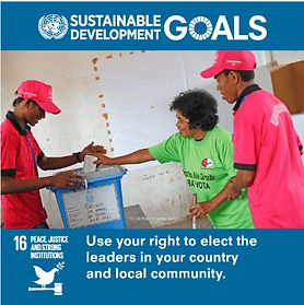 SDG-Goal-16-Peace, Justice & Strong Inst
