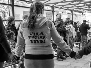 Acordo para quem? Mobilização reúne moradores da Ocupação Vila Resistência