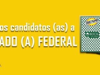 Em Santa Maria são dez os candidatos e as candidatas a ocupar a Câmara de Deputados