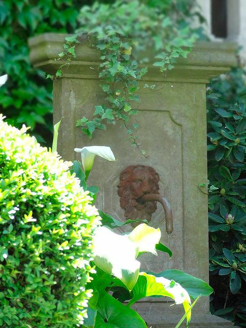 Jardins et fontaines - Bulles de Loire - Chambres d'hôtes à Saumur