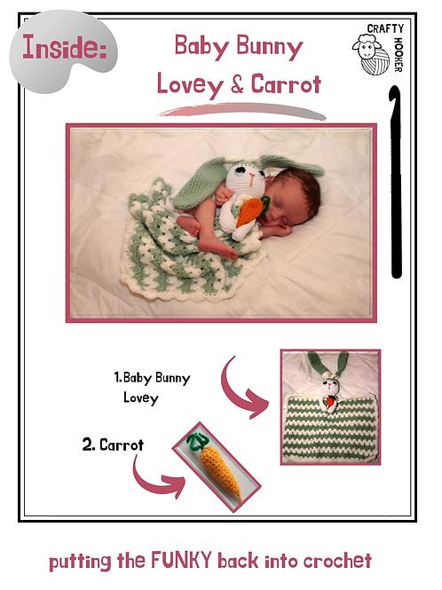 Bunny & Carrot Lovey