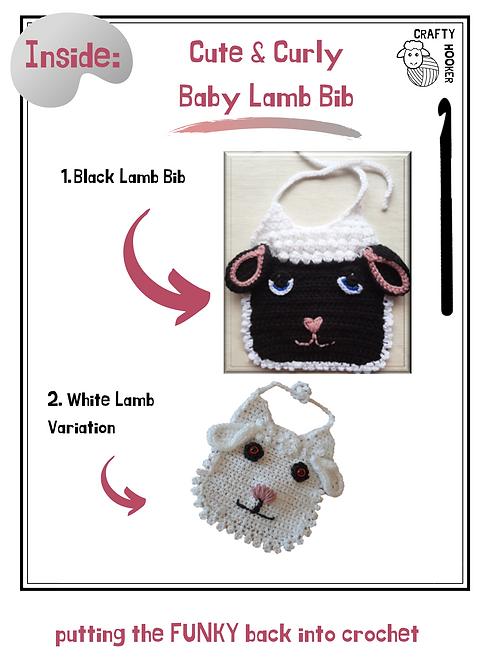 Baby Lamb Bib