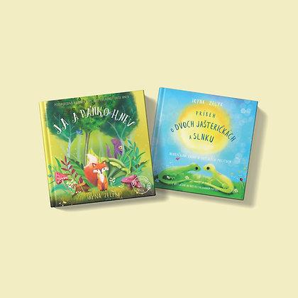 Dve knižky podľa vlastného výberu za zvýhodnenú cenu
