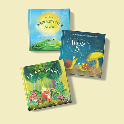 Tri knižky podľa vlastného výberu za zvýhodnenú cenu