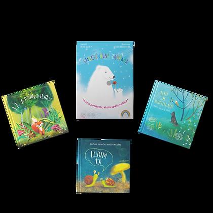 Hra Emocionálna záhrada + 3 knižky podľa vlastného výberu za zvýhodnenú cenu