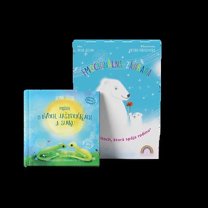 Emocionálna záhrada + knižka podľa vlastného výberu za zvýhodnenú cenu