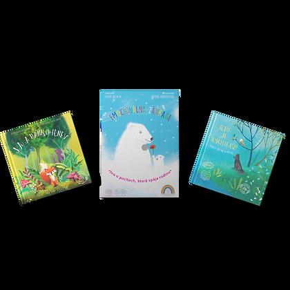 Hra Emocionálna záhrada + 2 knižky podľa vlastného výberu za  zvýhodnenú cenu