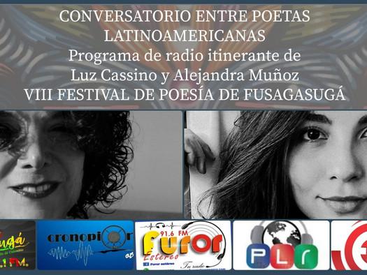 Conversatorio entre poetas latinoamericanas (radio itinerante)