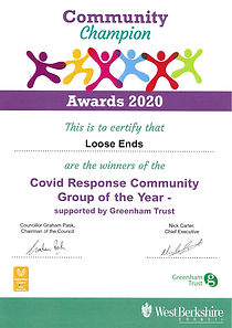COVID Response Community Group of the Ye