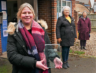 Kate Pat and Pat with award.jpg