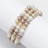 Les perles de culture eau douce sont cultivées en lacs et rivières de Chine, mais pas seulement.