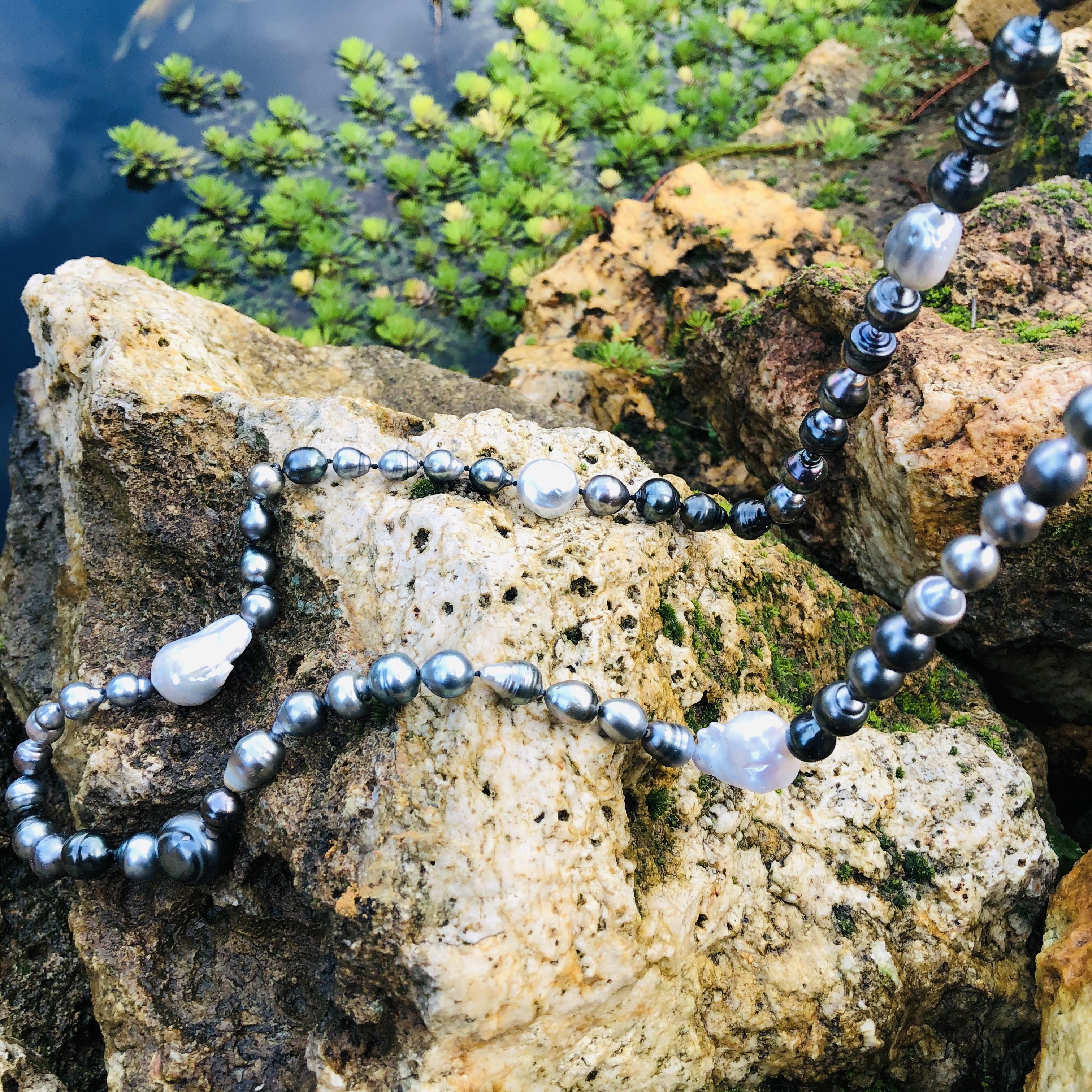 sautoir perles de tahiti