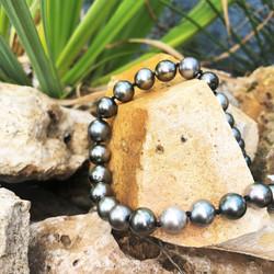 collier perles de tahiti shamani