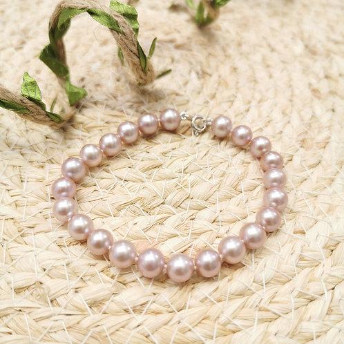 Bracelet perles de culture 7mm