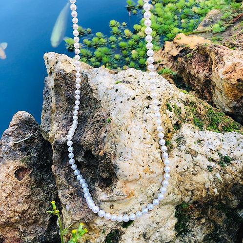 sautoir perles blanches perles de culture paris