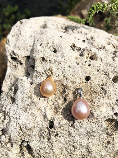 pendentif perle poire
