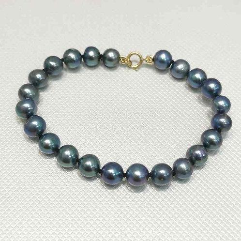 Bracelet perles de culture 6/7mm