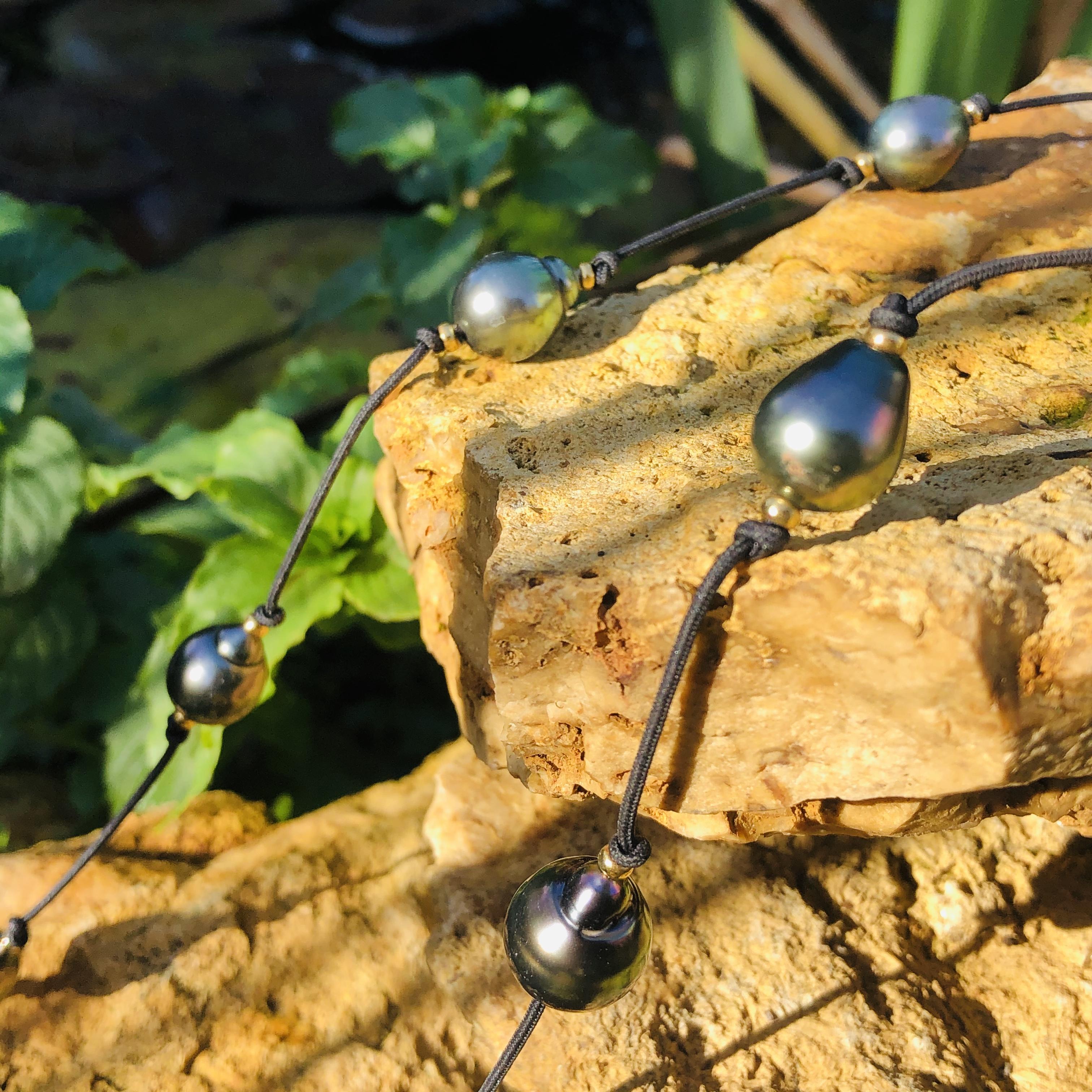 sautoir perles de tahiti shamani creaper