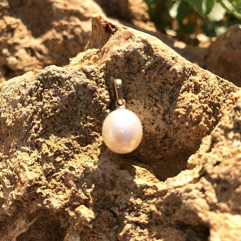 pendentif perle de culture
