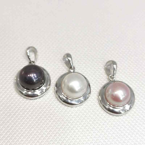 pendentif perles de culture