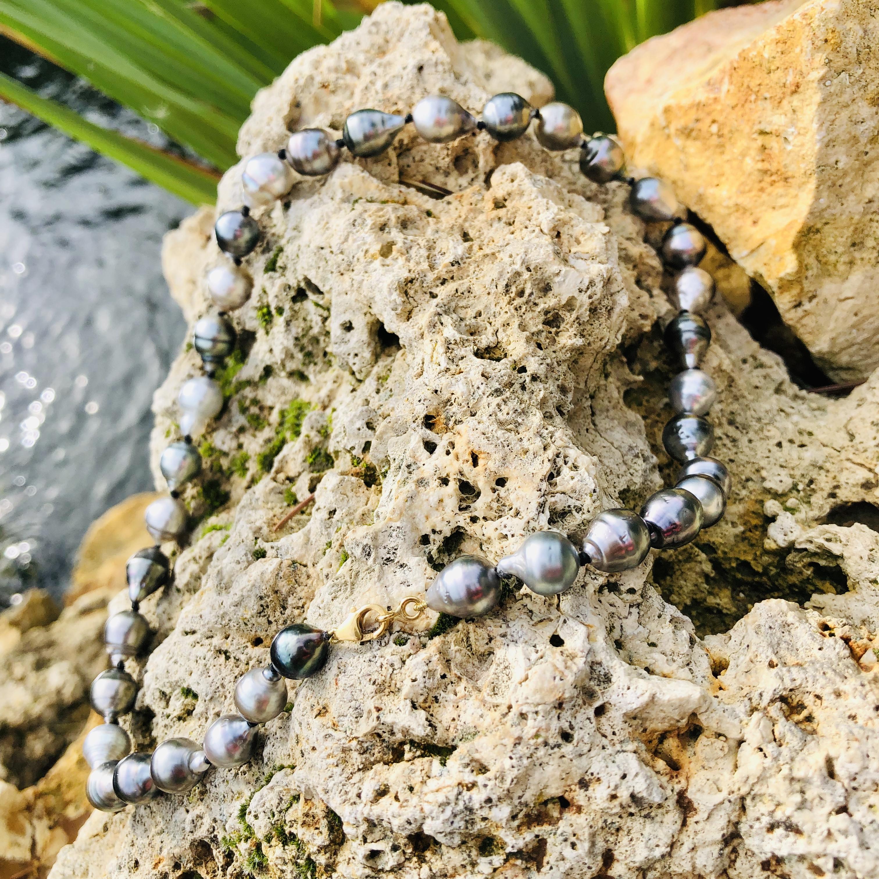 collier perles de culture de tahiti sham