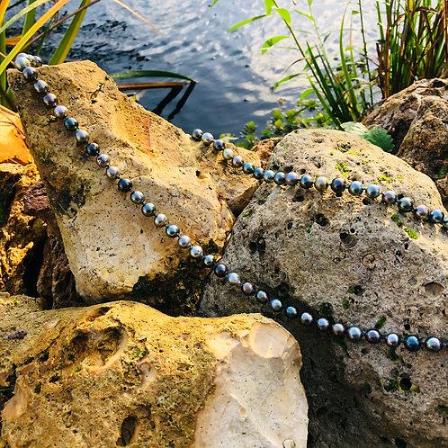 sautoir perles de tahiti shamani