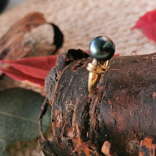 Bague perle de Tahiti 8/9mm
