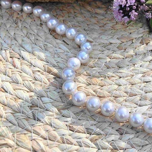 Collier choker perles de culture 8-8.5mm AA