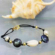 bijoux coquillage cauri et perles