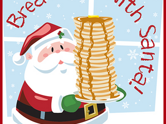 Holy Name Society's Annual Christmas Brunch with Santa