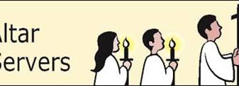 Altar Server Sign Up