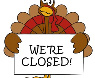 Office Closed for Thanksgiving Holiday