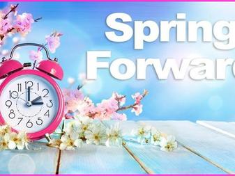 Spring Forward This Weekend!