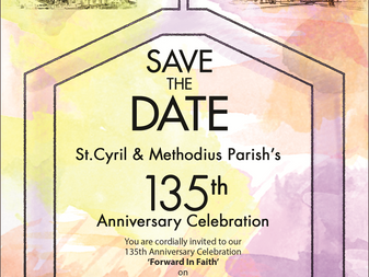 Save the Date 135th Anniversary