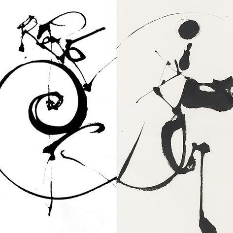 yves dimier peintre calligraphie contemporaine calligraphy logogramme