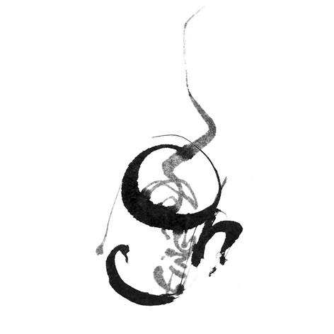 Confinés calligramme calligraphie d'un mot ©yvesdimier