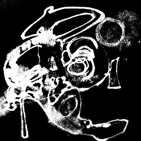 Croire calligramme calligraphie d'un mot ©yvesdimier